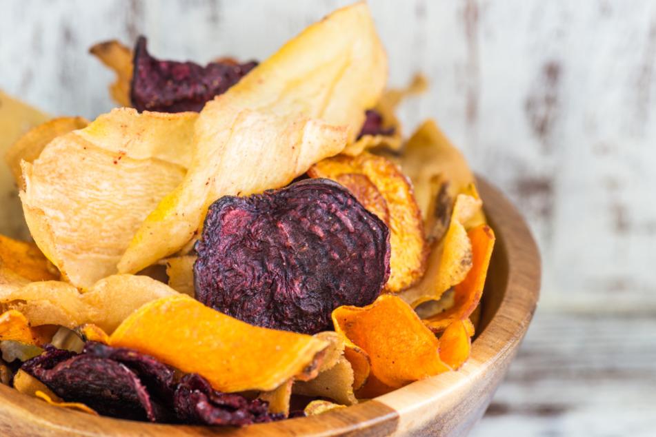 Von wegen gesund! Gemüsechips enthalten krebserregende Stoffe