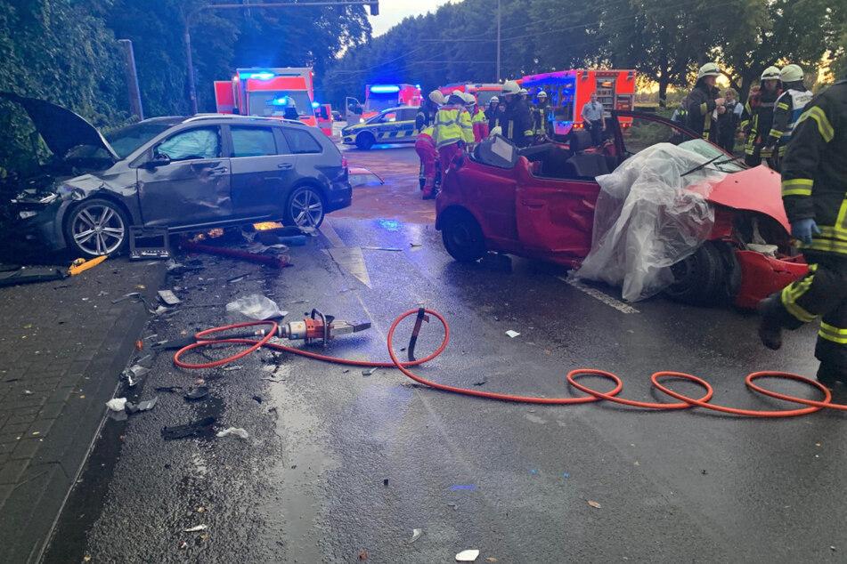 Köln: Drei Verletzte nach Unfall am Kölner Rheinufer