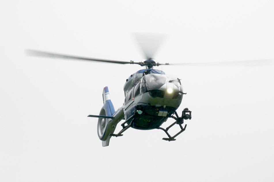 Zur Verkehrsaufklärung war ein Hubschrauber über Mannheim unterwegs. (Symbolbild)