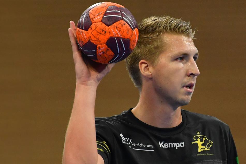 Ivar Stavast (22) kann vorübergehend nicht für den HC Elbflorenz auflaufen.