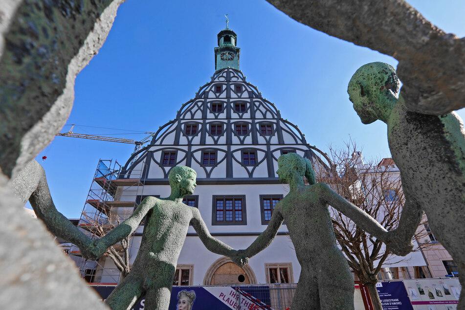 In Zwickau kann man heute die Altstadt entdecken.