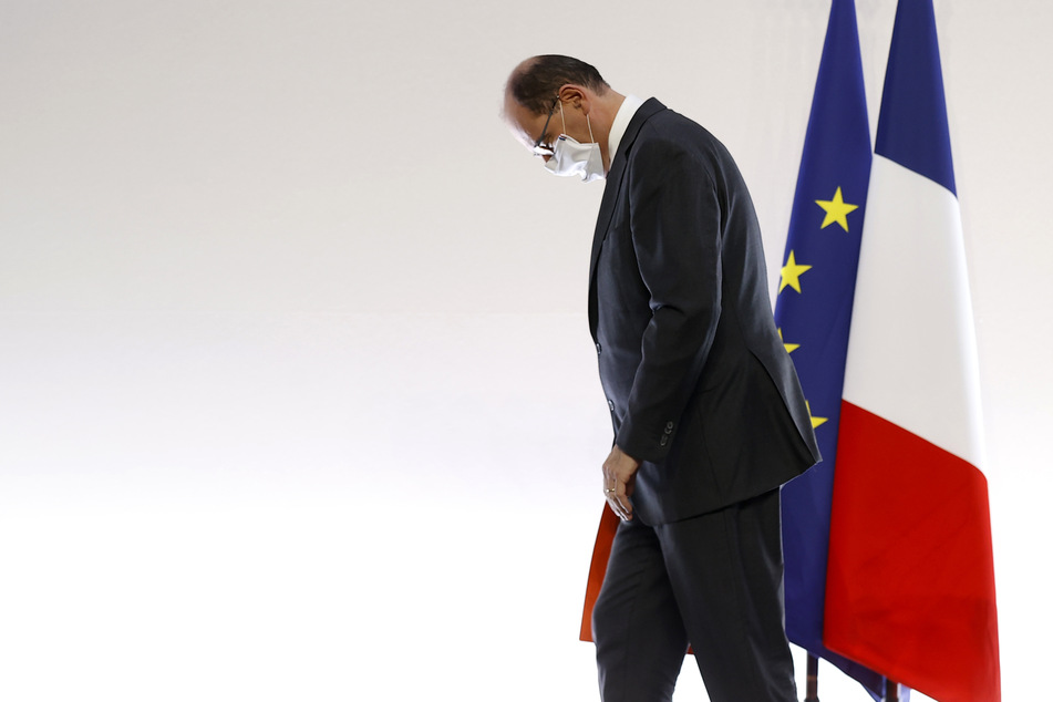 Jean Castex, Premierminister von Frankreich, geht.