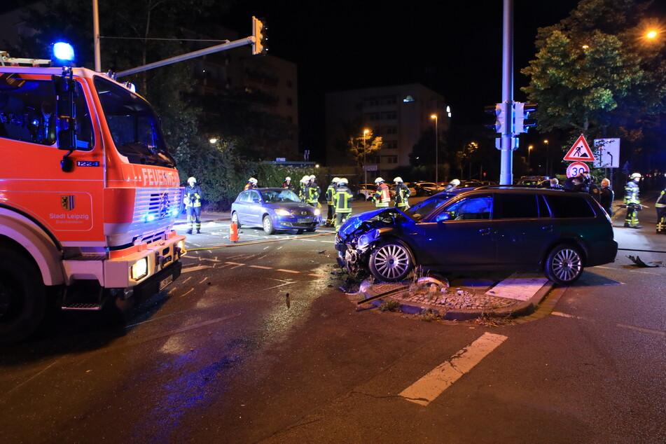 Heftiger Crash in Leipzig: War Ampelschaltung defekt?