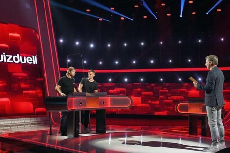 """Moderator Jörg Pilawa (55) knöpft sich das Team """"Schauspiel"""" vor."""