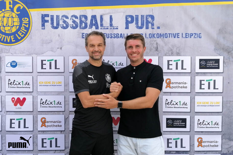 Maik Salewski hat seinen Vertrag bei Lok Leipzig verlängert.