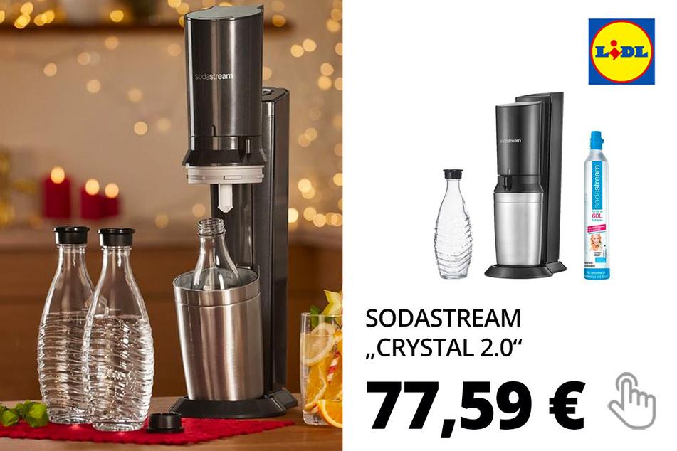 "SODASTREAM Wassersprudler ""Crystal 2.0"""