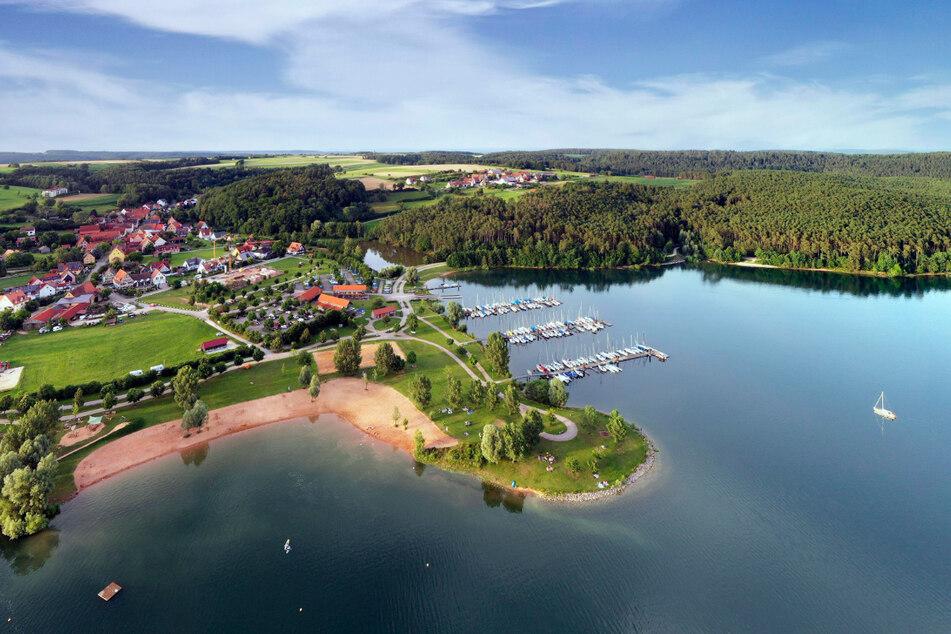 Das Strandbad Enderndorf ist nur eine von fünf Hafenanlagen am Brombachsee.