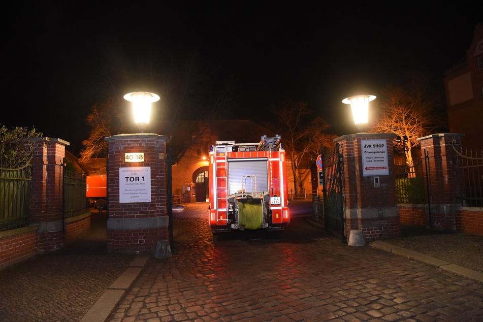 In der JVA Tegel ist in der Nacht zum Freitag ein Feuer ausgebrochen.