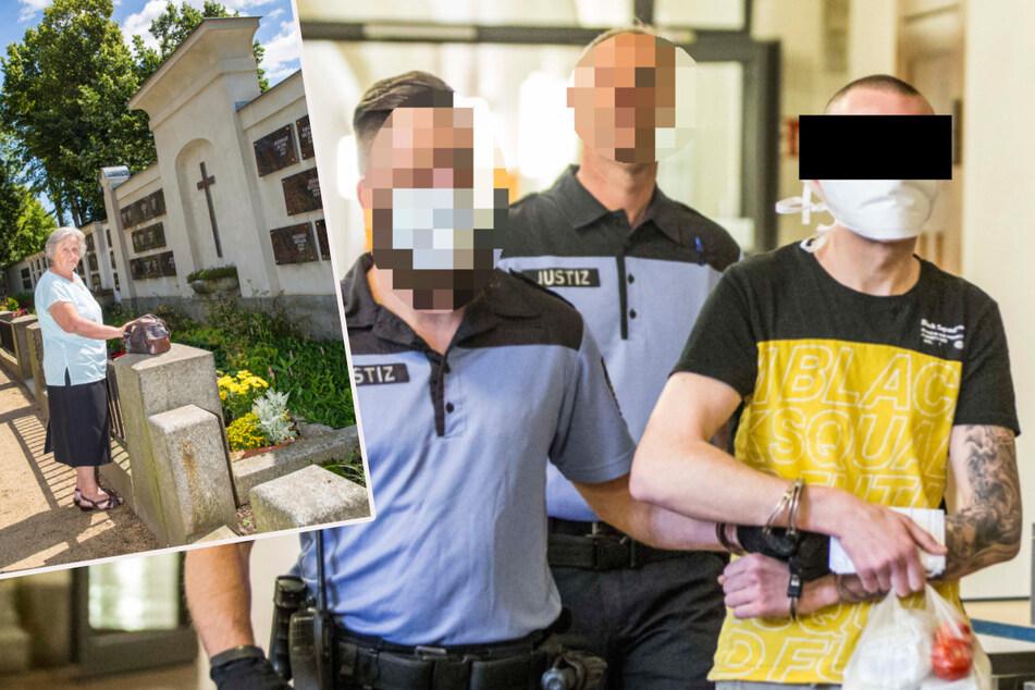 Er brauchte Geld für die Heimfahrt: 24-Jähriger raubt Oma auf Friedhof aus