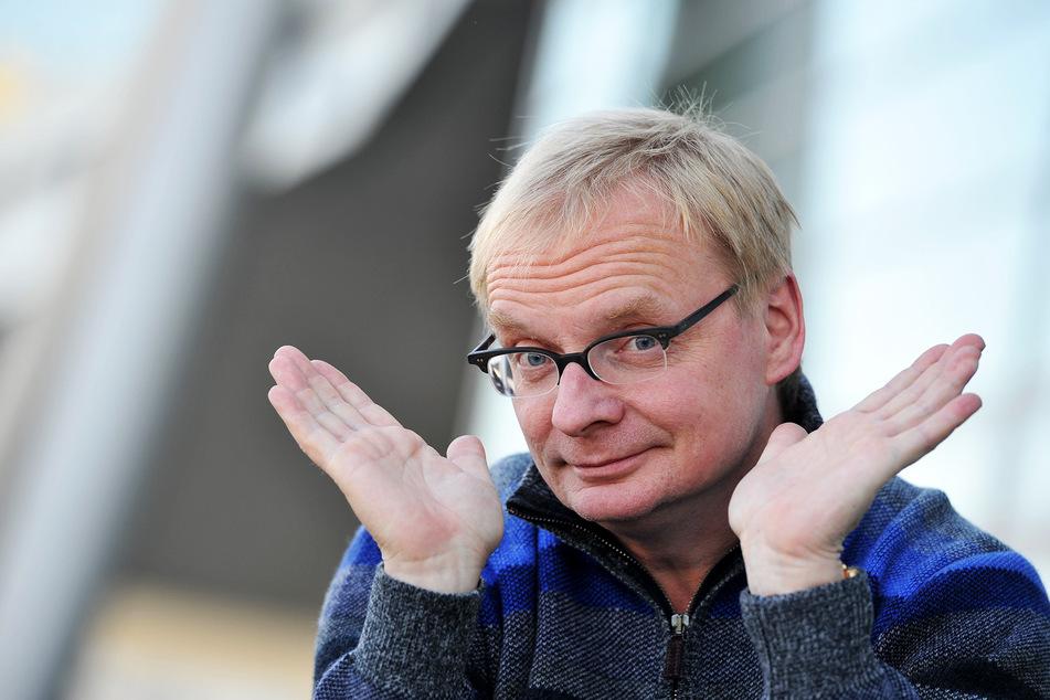 Der als Redner angekündigte Uwe Steimle (56).