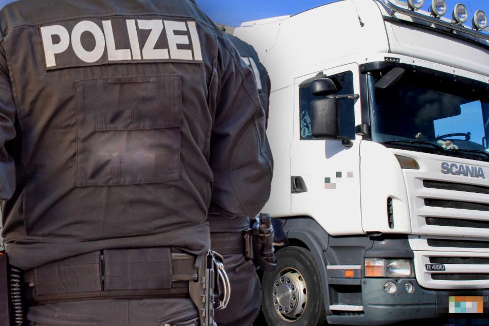 Lkw-Fahrer hört plötzlich Klopfgeräusche, Polizei deckt illegale Überraschung auf