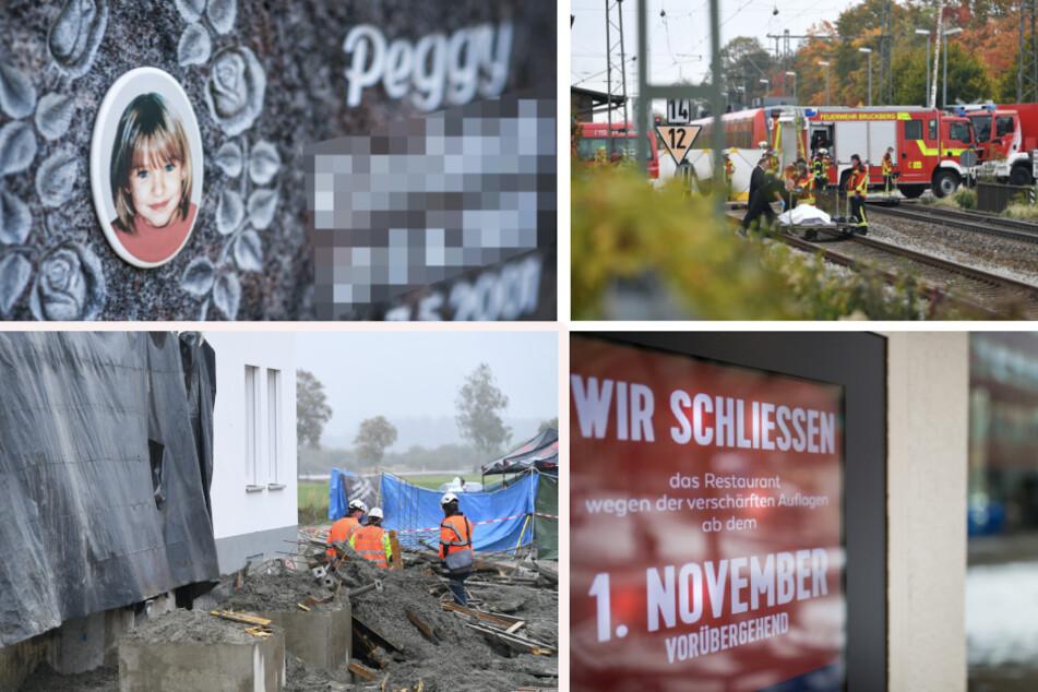 Das war 2020: Bahnunglück, Fall Peggy eingestellt, zweiter Lockdown in Bayern