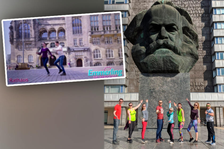 Chemnitzer Tanzschule tanzt vor den schönsten Kulissen der Stadt!