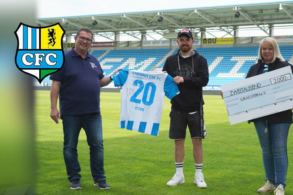 Itters CFC-Trikot bringt 2000 Euro für guten Zweck!