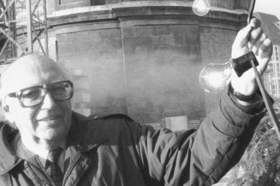Auch Dresden-Mäzen Wolfgang Mischnick (FDP, 1921-2002) soll mit einer Straße geehrt werden. (Archivbild)