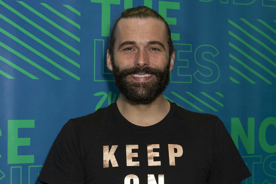 Jonathan Van Ness announced that he's married to his best friend!