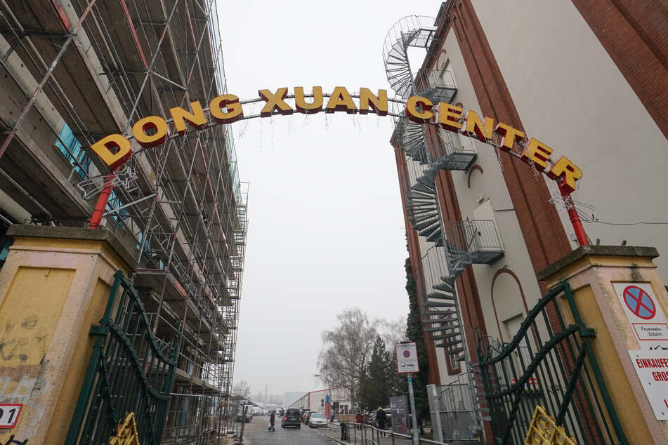 Die Polizei nimmt das Berliner Dong Xuan Center in Bezug auf Schleuserkriminalität genauer unter die Lupe.