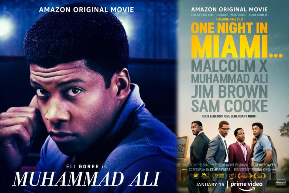 """Cassius Clay alias Muhammad Ali (Eli Goree) spielt in """"One Night in Miami"""" eine große Rolle."""