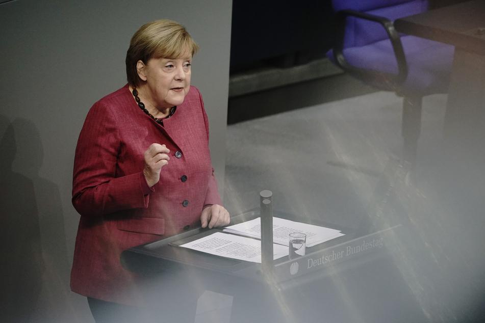 Bundeskanzlerin Angela Merkel (CDU) ruft Deutschlands Bürger zur weiteren Vorsicht auf.