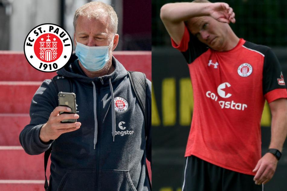 St. Pauli macht kurzen Prozess: Auch Co-Trainer müssen gehen