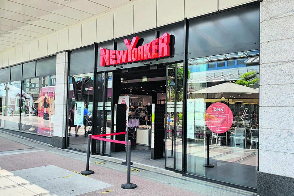 """Die Tat ereignete sich vergangenen Oktober im Klamottenladen """"New Yorker"""" im Chemnitz-Center."""