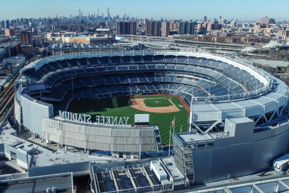 Das Yankee Stadium in der Bronx.