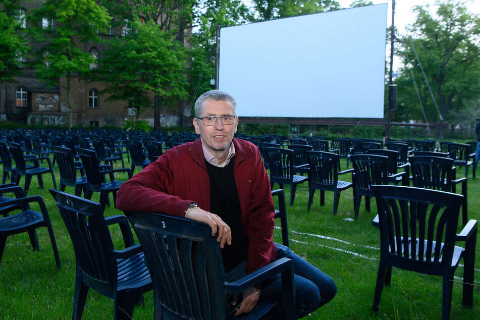 Arne Höhne betreibt die drei Berliner Open Air-Kinos in Friedrichshain, Kreuzberg und Rehberge.