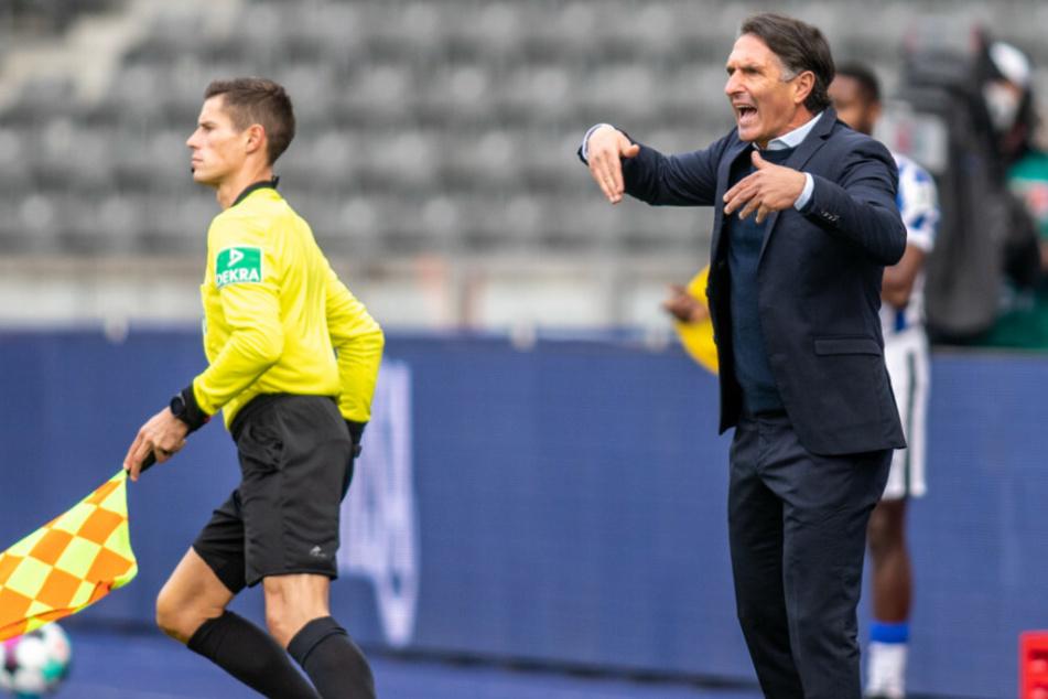 Bruno Labbadia kassierte gegen seinen Ex-Verein VfB Stuttgart die dritte Niederlage in Serie.