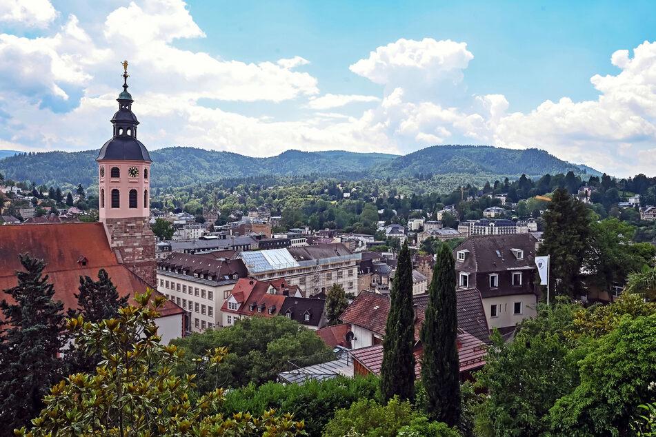 Blick auf die Innenstadt von Baden-Baden. Der Kurort ist nun ein Unesco-Welterbe.