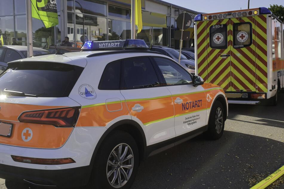 Vier Menschen wurden bei der Verpuffung verletzt.