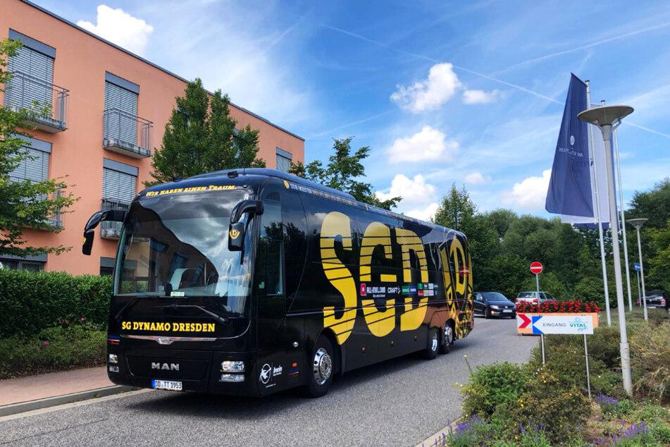 Dynamo Dresdens Teambus sieht klasse aus!
