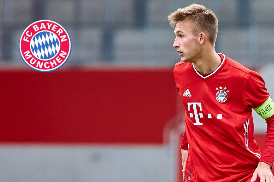Rhein bleibt an der Isar: FC Bayern verlängert Vertrag mit Nachwuchs-Star