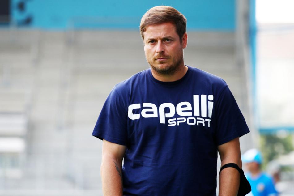 Viki-Coach Benedetto Muzzicato (41) hat mit seinem Team aktuell einen Lauf.