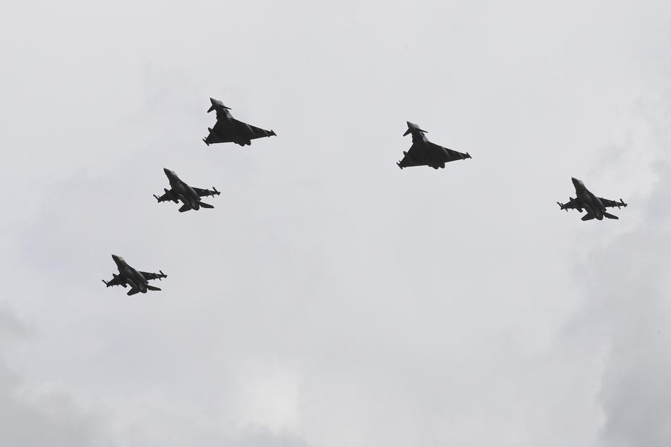 Israelische Kampfjets erstmals in Deutschland: Gemeinsame Flüge zum Gedenken