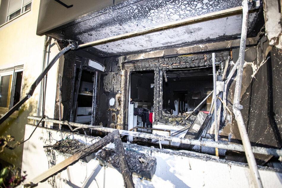 Brand im Erdgeschoss: Mehrfamilienhaus in Münsingen geräumt