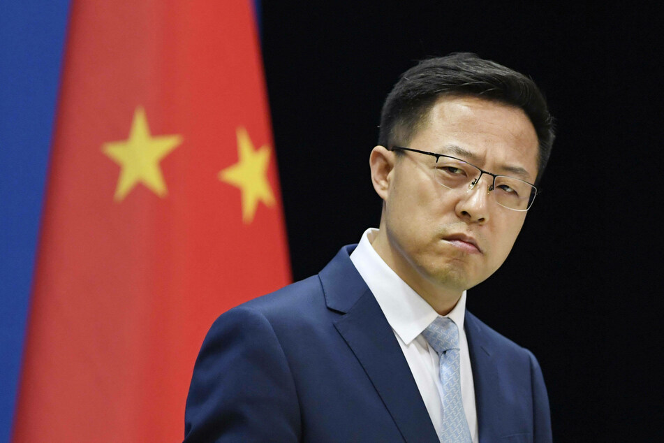 Chinese Foreign Ministry spokesperson Zhao Lijian said the coronavirus may have originated in a US lab.