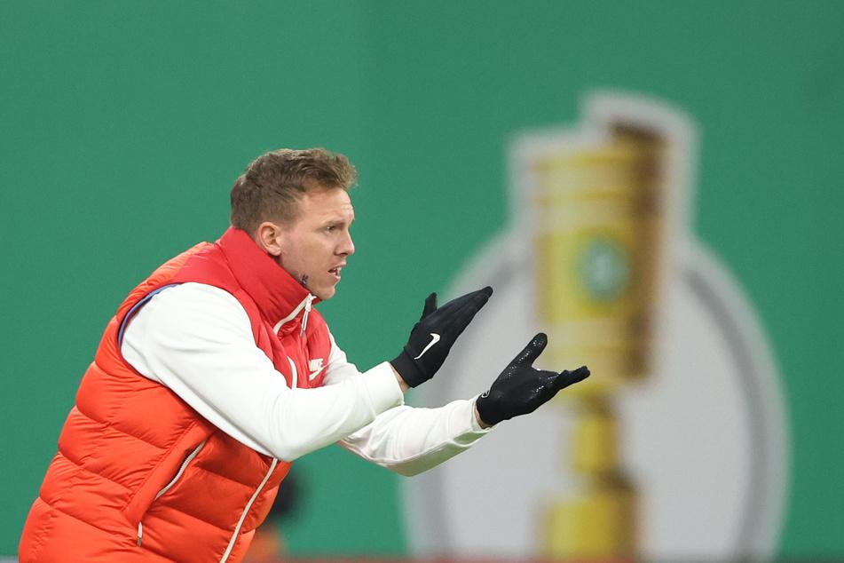 Julian Nagelsmann (33) und sein Team können in dieser Saison noch den DFB-Pokal holen. Dafür muss allerdings erstmal Werder Bremen aus dem Weg geräumt werden.