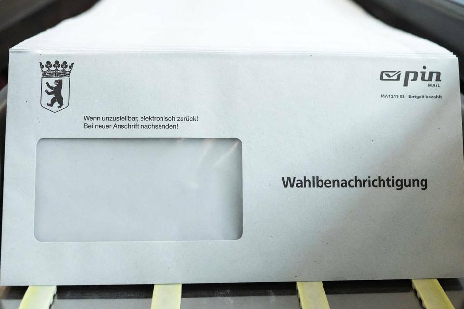 Bis Samstag sollen alle wahlberechtigten Berlinerinnen und Berliner ihre Wahlbenachrichtigungen erhalten.