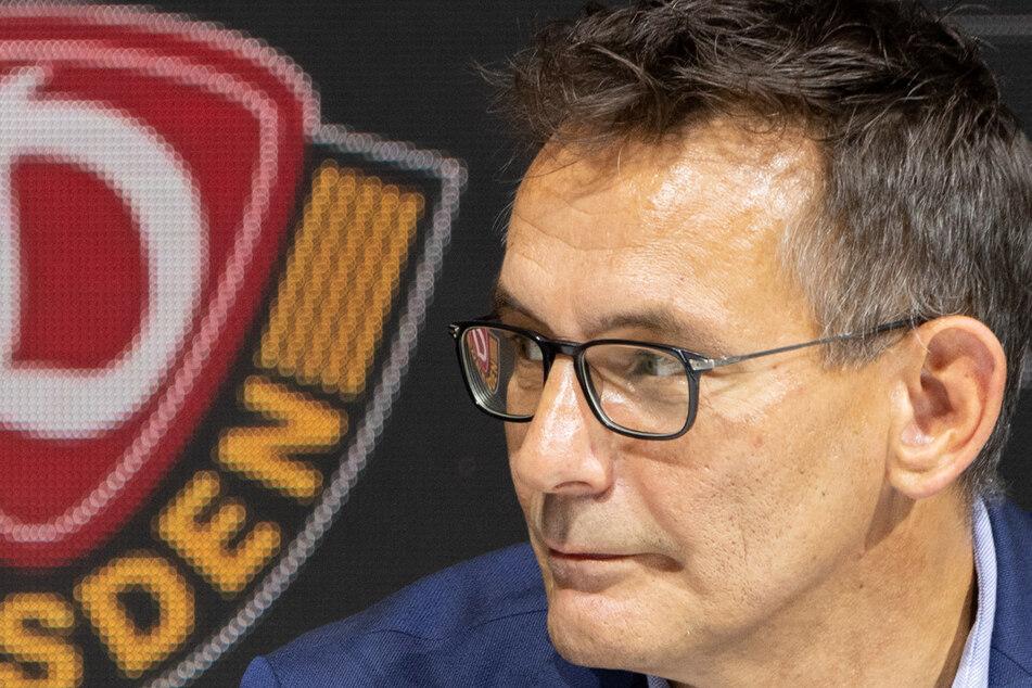 Michael Born, Finanzgeschäftsführer des Fußball Zweitligisten SG Dynamo Dresden.