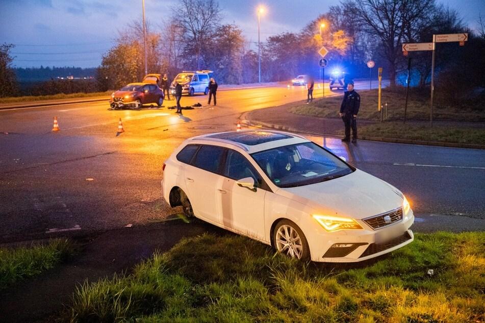 Wie genau es zu dem Unfall an der Kreuzung kam, ist noch unklar.