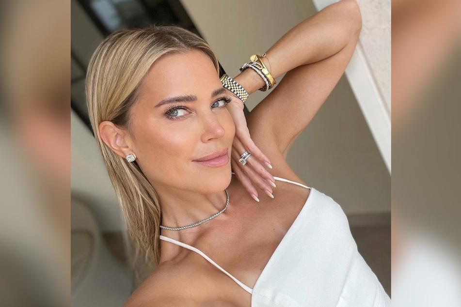 Sylvie Meis (43) verbrachte einen romantischen Hochzeitstag auf Mallorca.