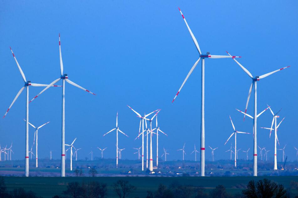 Unter anderem soll die umstrittene 10H-Regel abgeschafft werden, um mehr Windräder zu ermöglichen. (Symbolbild)