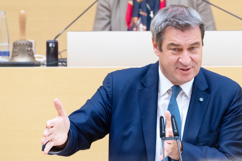 Bayerns Ministerpräsident Markus Söder (54, CSU) hat den Kurswechsel in der Corona-Politik des Freistaats verteidigt.