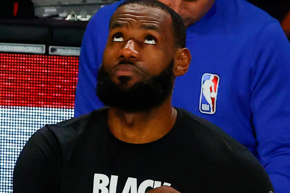 NBA superstar LeBron James of the LA Lakers supports the walkout.