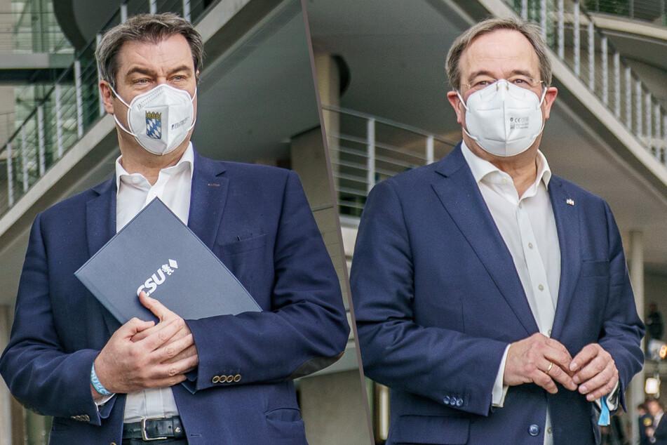 Union-Streit um K-Frage: Armin Laschet erhält Zuspruch, Entscheidung noch heute?