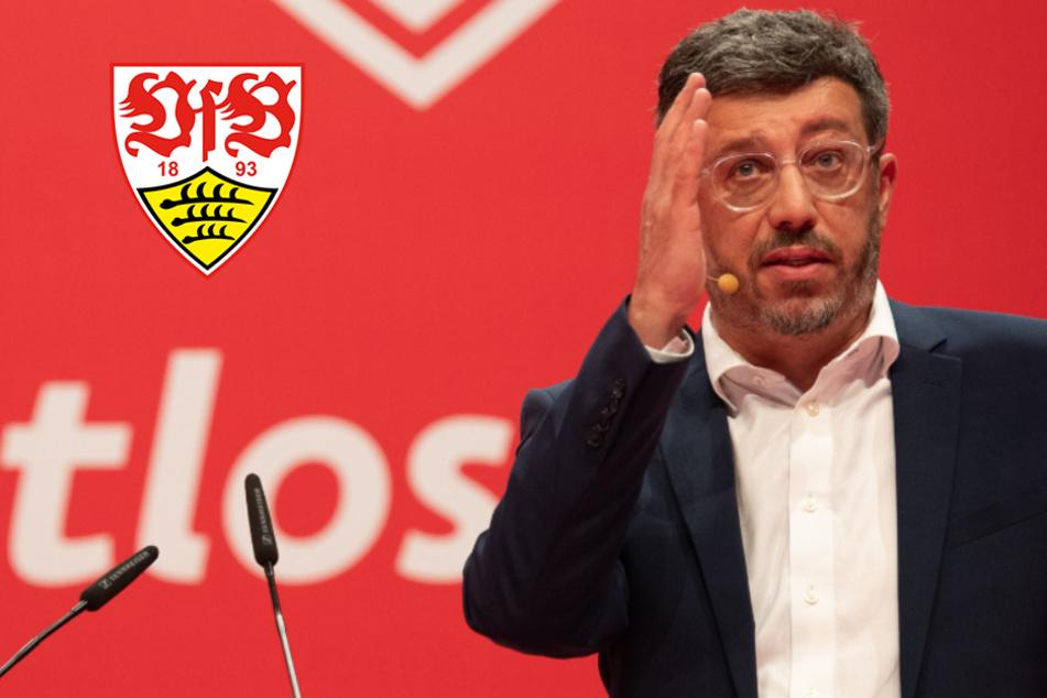 VfB-Präsident Claus Vogt meistert Klopapier-Challenge bravourös!