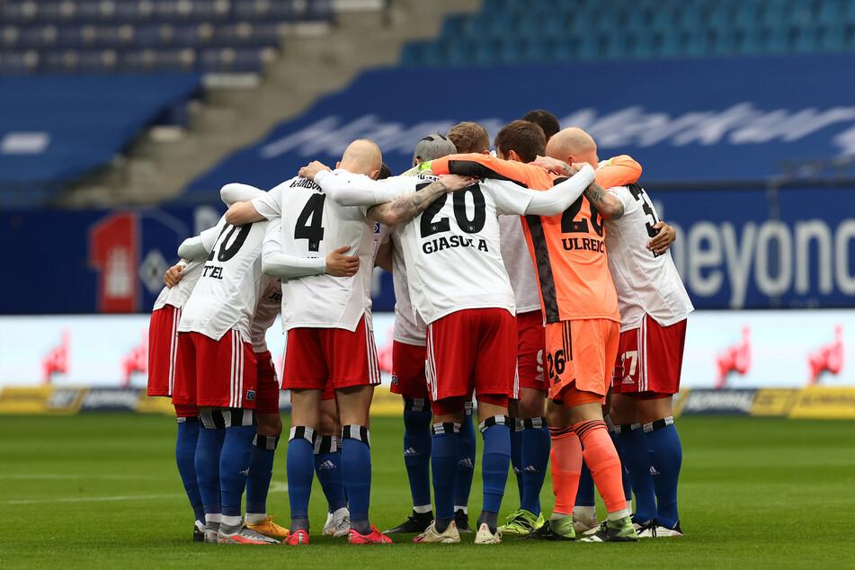 Das Selbstvertrauen und der Zusammenhalt unter den HSV-Spielern muss stimmen, um noch eine Chance auf die Relegation zu haben.
