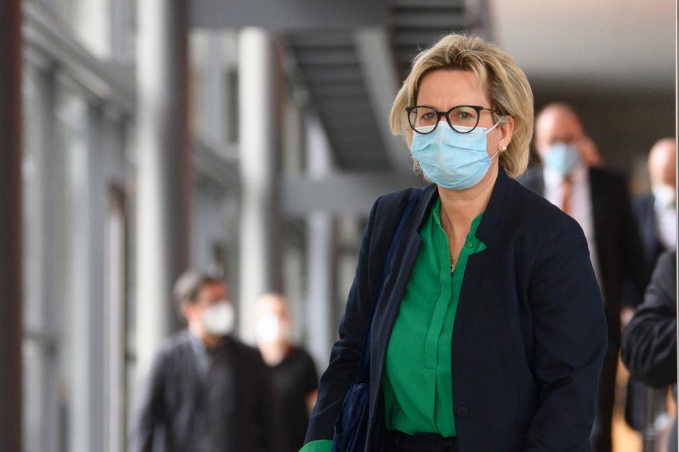 Barbara Klepsch (56, CDU) hat die Menschen in Sachsen zum Impfen aufgerufen.