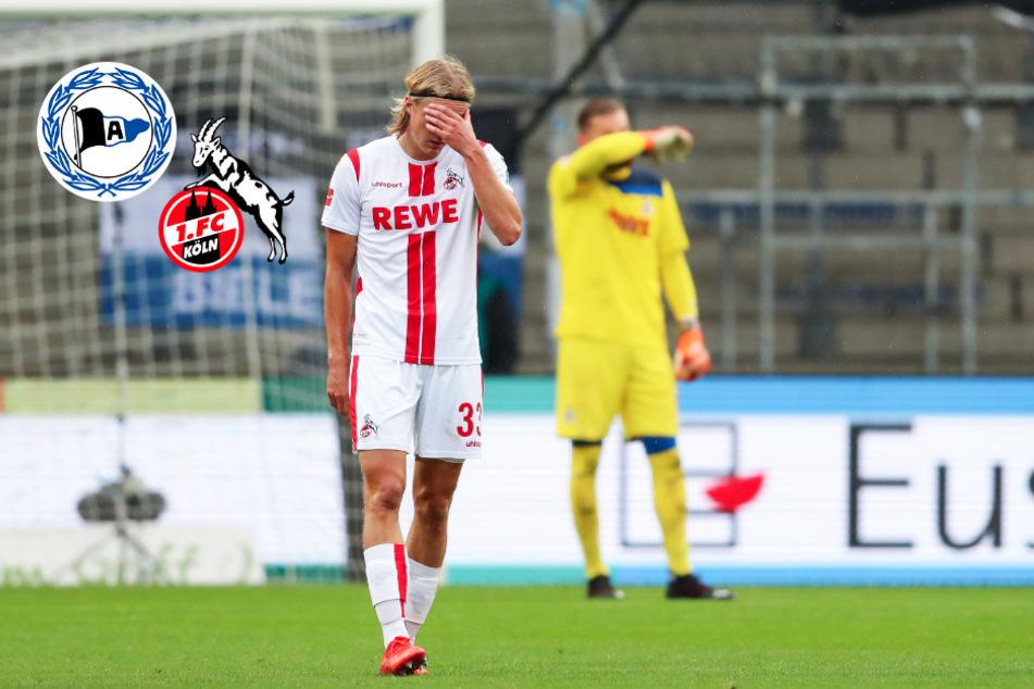 1. FC Köln bleibt auf der Alm torlos und verliert auch gegen Bielefeld!