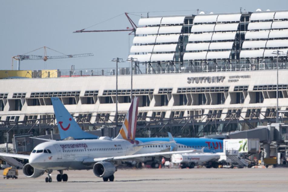 Vor der Corona-Krise: Ein Blick auf den Betrieb am Stuttgarter Flughafen.